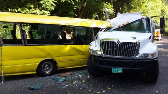 Bus Driver Killed In Collision With Petrol Tanker