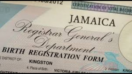 the registrar general department in jamaica essay The registrar general's department (rgd) is an executive agency and jamaica's sole repository of birth, death, marriage and fetal death records the only organisation in jamaica which is responsible for registering the vital events of births, fetal deaths, marriages and deaths.