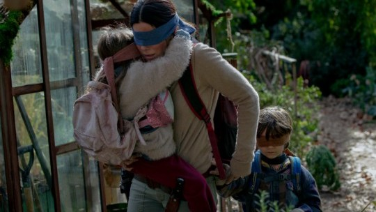 Sandra Bullock's new film Bird Box breaks Netflix record