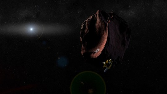 New Horizons Probe Flies By Distant Asteroid Ultima Thule