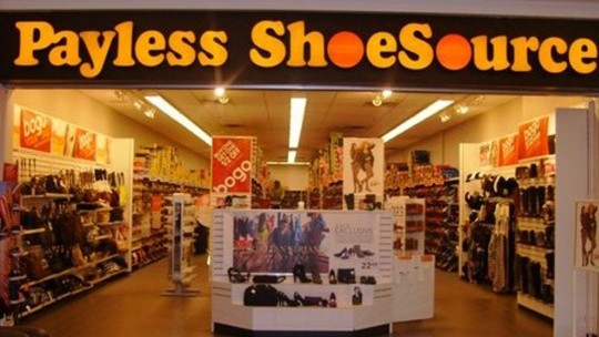 Payless is closing its 2100 U.S. shoe stores