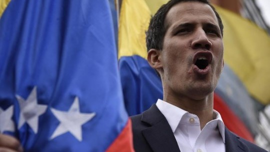 Juan Guaido's Envoys Take Control Of Venezuela's Diplomatic Properties In The US