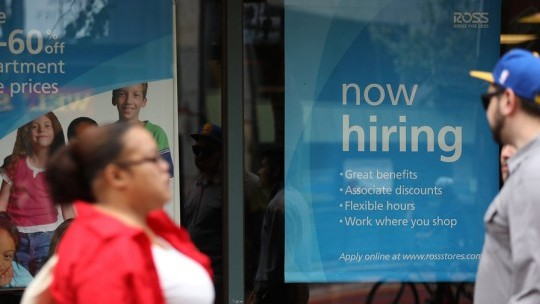 Hiring likely slowed in August as the US-China trade war raged