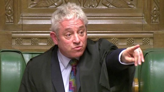 Commons speaker John Bercow tipped for I'm A Celebrity